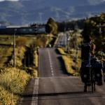 台灣夫婦 單車插國旗環遊世界