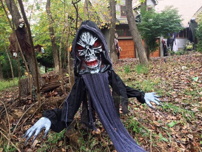 連草叢裡都有嚇人的玩意。網友Vincent@馬里蘭Potomac