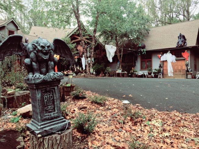 經過家附近以為踏進鬼屋!這也太嚇人了吧!網友Vincent@馬里蘭Potomac