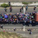 跨越墨國 日行6哩 奔美移民大軍已走45哩