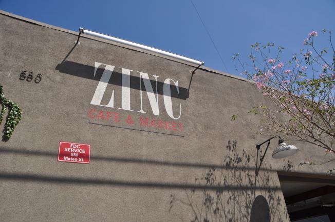 位于洛杉矶市中心的Zinc Cafe & Market。(记者谢雨珊╱摄影)