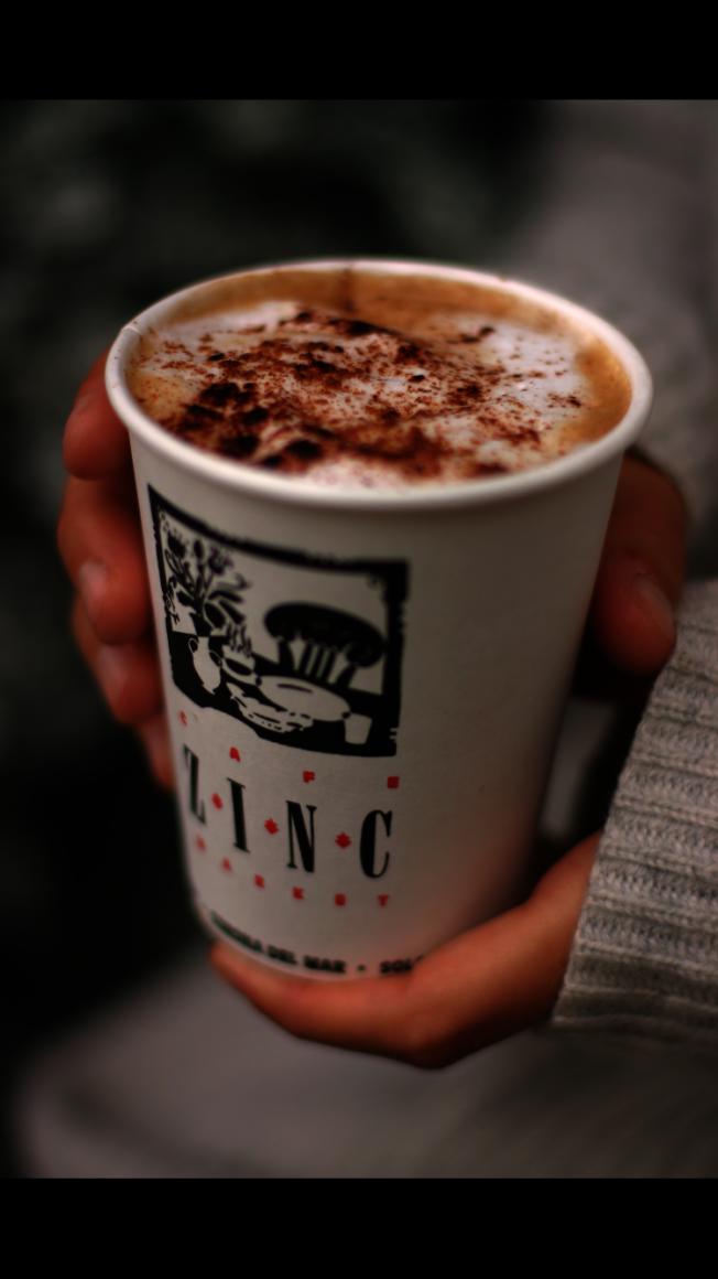 Zinc Cafe & Market的咖啡。(John Secretan提供)