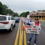 賓州民眾促廢學區地稅 今年逾萬人交不出稅失住處