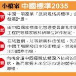 1張圖 看美國的新威脅:中國標準2035