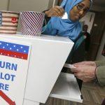 投票機異常「選民主黨變共和黨」 受影響選民可重投