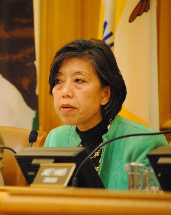 前聯邦民權委員李艷虹分析,廢除出生公民權將使華裔社區嚴重受影響。(本報檔案照片,記者李秀蘭攝影)