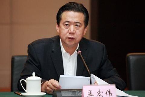 國際刑警組織主席孟宏偉。(中國國家海洋局網站)
