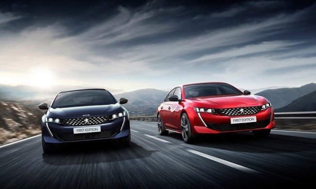 Peugeot 508 First Edition。 (Peugeot)