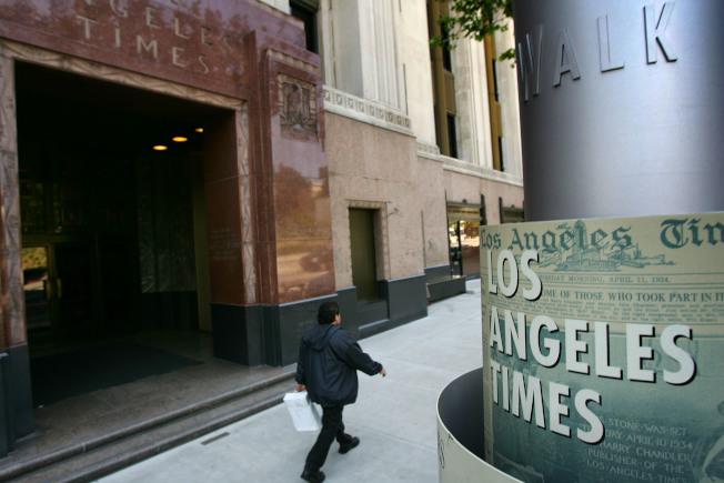 西岸大報洛杉磯時報。(Getty Images)