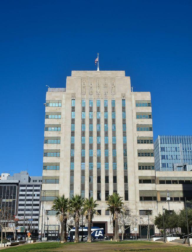 洛杉磯時報大樓曾是洛杉磯的地標。(Getty Images)