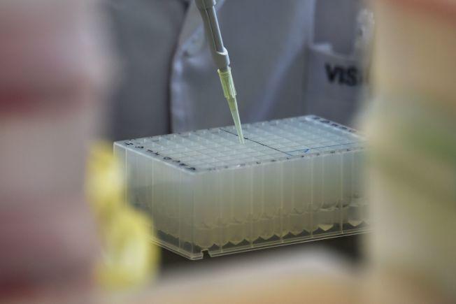 技術人員正在提取檢體驗DNA。(Getty Images)