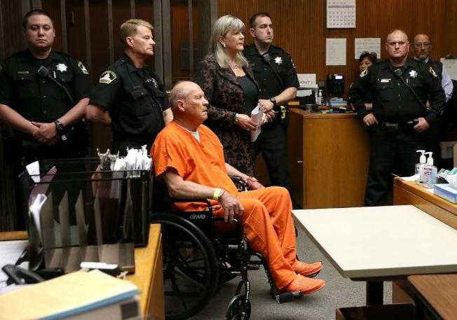 金州殺人魔嫌犯出庭。(Getty Images)