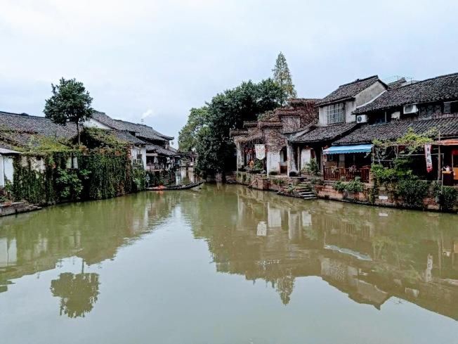 新市古鎮的民居。