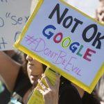 主管性騷竟優退 谷歌全球員工大怠工