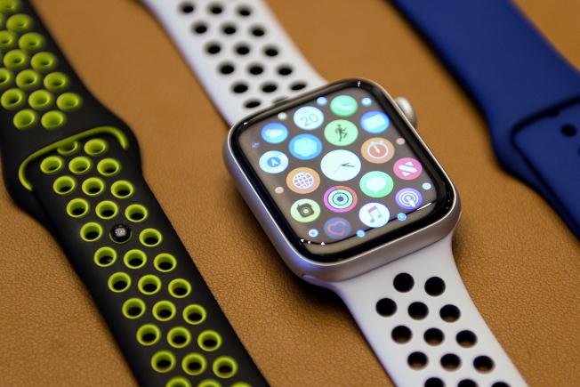 蘋果將加把勁衝高Apple Watch智慧手表及其他配件的出貨量。(歐新社)