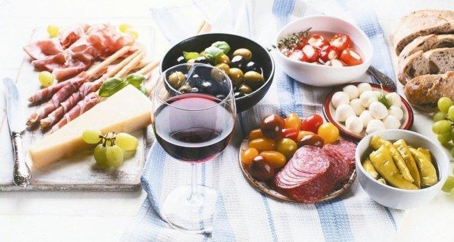 地中海飲食被公認是最具保護作用的飲食。 圖╱123RF