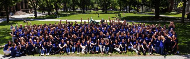 「為美國創業」在布朗大學開辦訓練營。(圖片為作者提供)