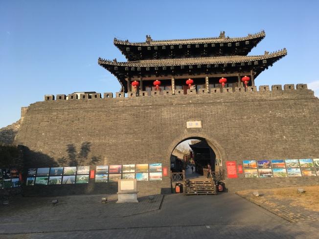 揚州城內雄偉的東關城樓,維護保存良好。