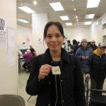 曼哈頓華埠投票站掃描機故障 選民大排長龍