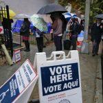 壞天氣「壞了」投票機…投票要等3小時