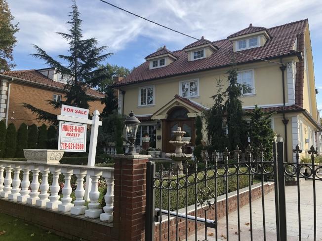 貝瑞吉不少買家選擇購買老房屋再徹底翻新。(記者黃伊奕攝影)