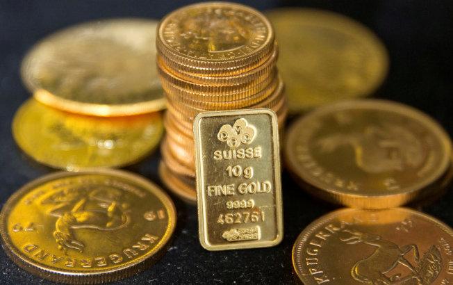 市場不確定性提高,黃金價格走揚。(圖/路透社)