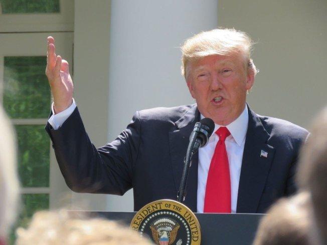 美國總統川普。(報系資料照片/記者張加攝)