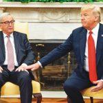 民主黨拿下眾院 川普受挫歐洲領袖大樂