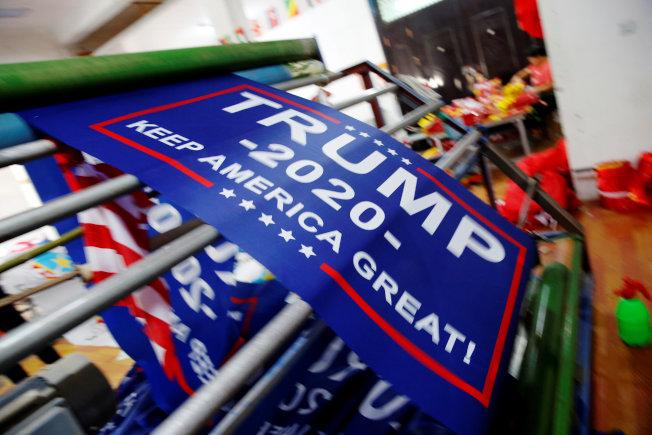 川普總統視期中選舉為2020年競選連任的風向球。(路透)