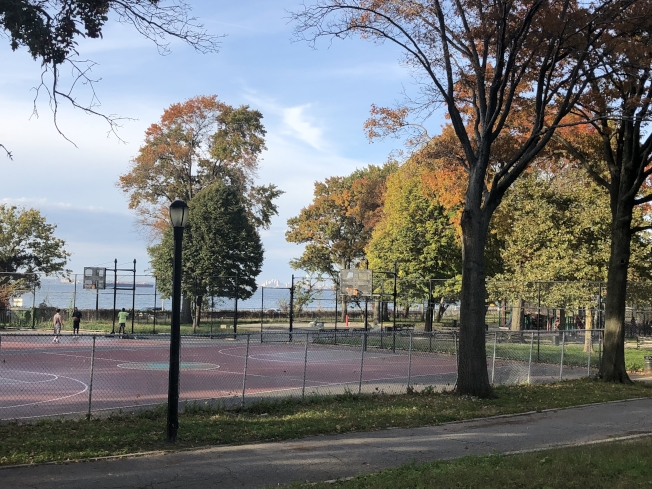 貝瑞吉環境優美,是紐約市難得的靜區。(記者黃伊奕/攝影)