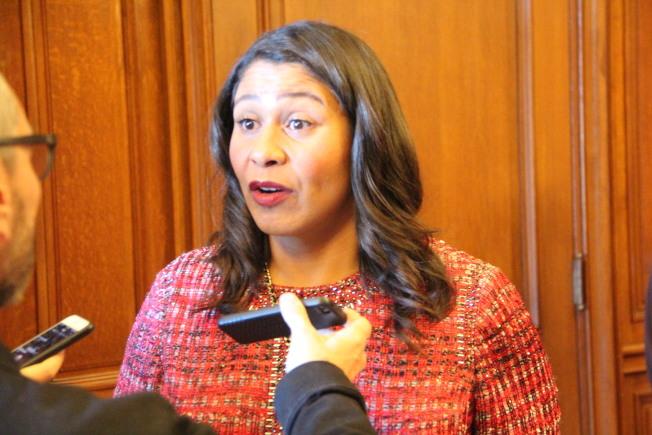雖然溫和派的布里德掌控市長一職,但11月選舉中舊金山選民明顯更青睞進步派。(記者李晗 / 攝影)