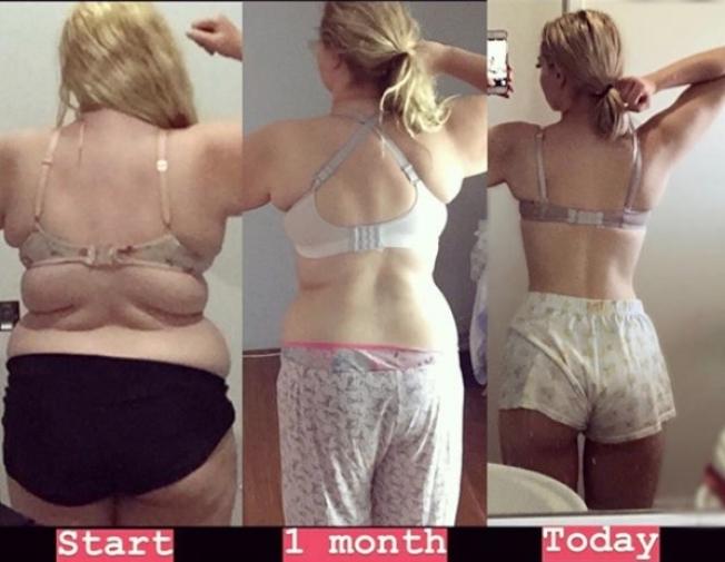 德斯葛蘭過去2年來,靠著飲食控制以及規律的運動,從127公斤胖妞,蛻變成174公分、60公斤的火辣女神。圖片翻攝Instagram/nolongerfatjosie