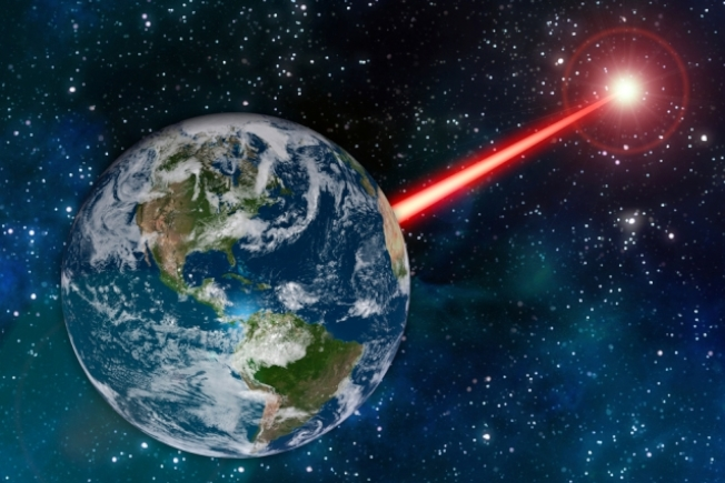 麻省理工學院(MIT)最新研究稱,向外發射高功率激光可對外星人發出我們存在的信號。圖取自MIT官網
