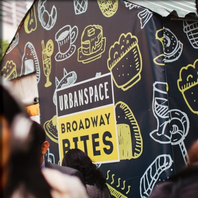 布莱恩公园集市有30多个来自世界各地的美食摊位。(取自Urbanspace脸书)
