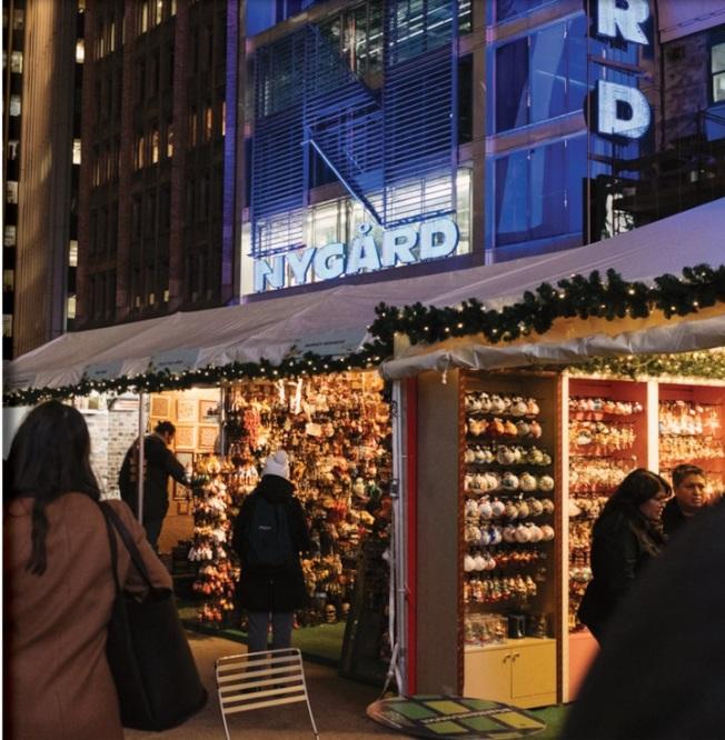 中央公园冬日集市将于11月28日开放,持续至12月24日。(取自Urbanspace脸书)