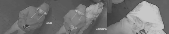 兩名男子涉嫌多次入室盜竊。(警方提供)