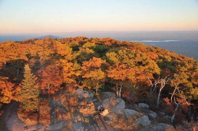 阿迪隆達克公園 滿山秋色