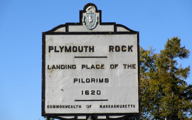 普利茅斯港保持很多英國移民遺跡。