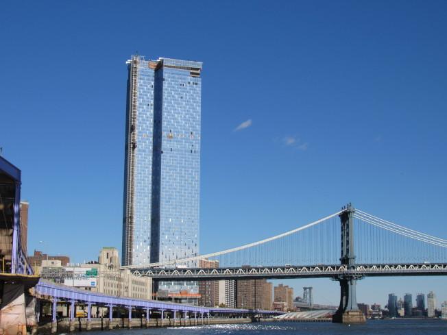 曼哈頓下東城受到多個建案影響,成為曼哈頓唯一躋身發展最快前十名的社區。(記者顏嘉瑩/攝影)