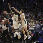 NBA/威廉斯絕殺 快艇加班獵雄鹿