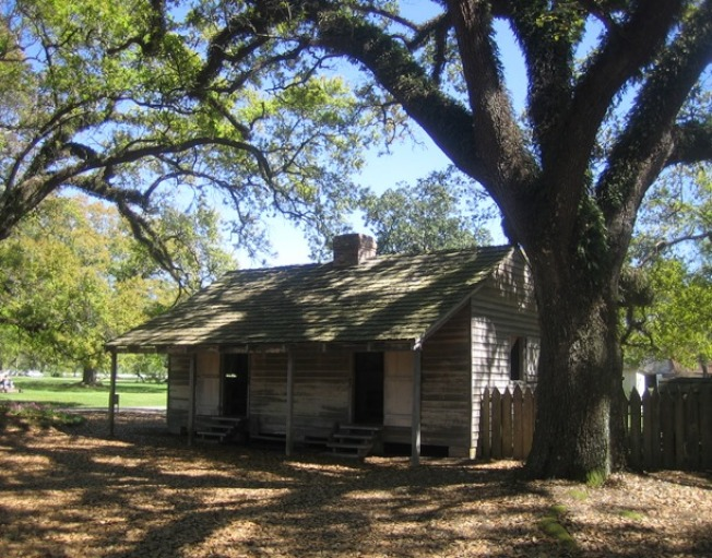 奴隸們住的板房。