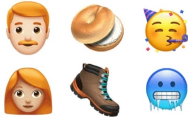 蘋果推出70多種新表情符號。(截自蘋果官方新聞室)