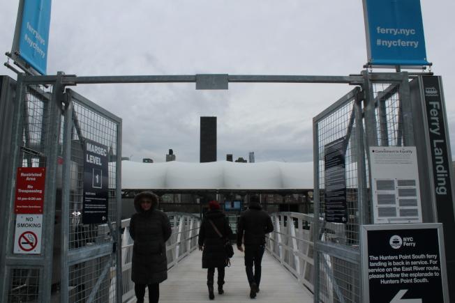 長島市和曼哈頓之間有渡輪服務。(記者劉大琪/攝影)