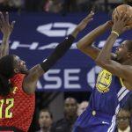 NBA/杜蘭特灌29分 勇士射鷹