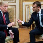 回報巴黎被罵? 川普諷馬克宏:美當年沒伸援 法國就說德語了