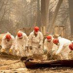 加州野火增至59死 多達130人失蹤