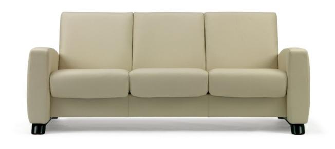 符合人体工学的沙发,能有效降低对身体的伤害。(取自Ekornes)