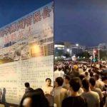 蘋果削訂單 廣東港資廠裁8000人 引來萬人包圍