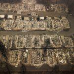 北加州野火增至71死  逾千人失蹤  逾萬棟屋毀