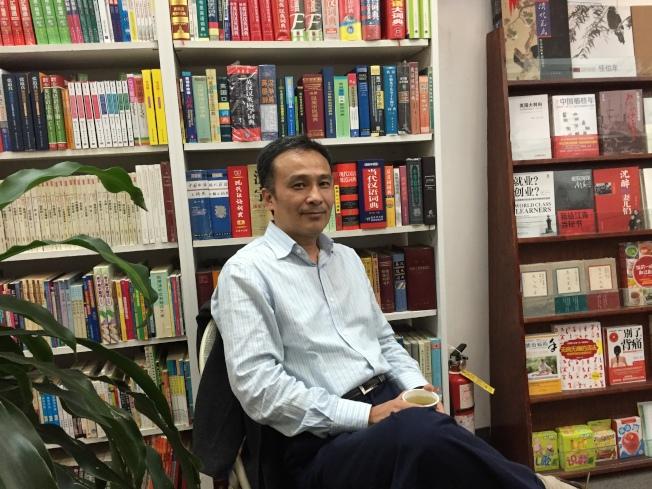 張宗子說,中國的武俠小說是「中華文化獨有的」。(張宗子/提供)